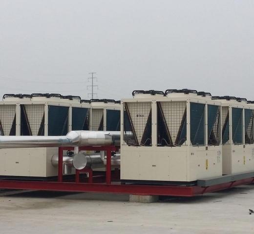 中央空调风冷机组